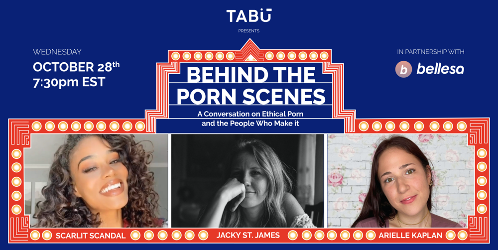 behind the porn scenes cover image